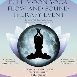 Full Moon Yoga Event