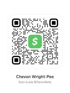 Cash App Payment QR Code